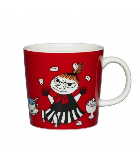 Porcelain mug Moomin Little My red 300ml