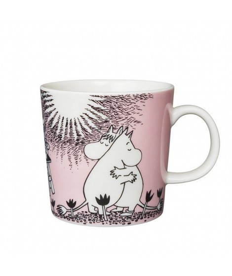 Porcelain mug Moomin Love pink 300ml