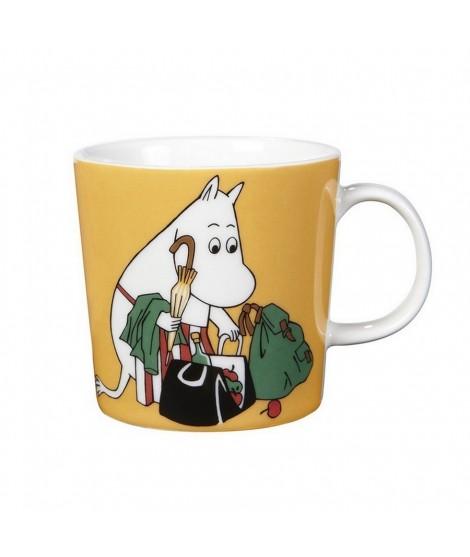 Porcelain mug Moominmamma apricot 300ml