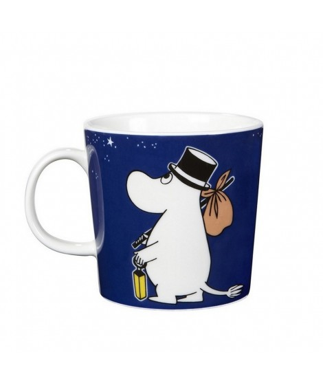 Porcelain mug Moominpappa blue 300ml