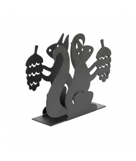 Držák na ubrousky Squirrel black (veverka)