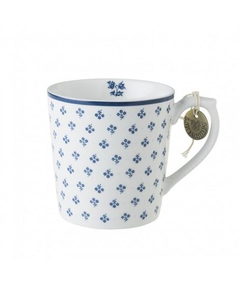Porcelain mug Petit Fleur blue 350ml