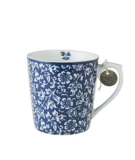 Porcelain mug Sweet Alyssum blue 350ml