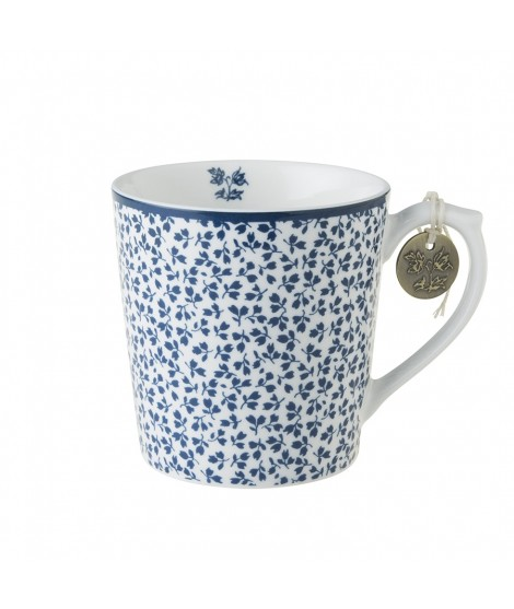 Porcelain mug Floris blue blue 350ml