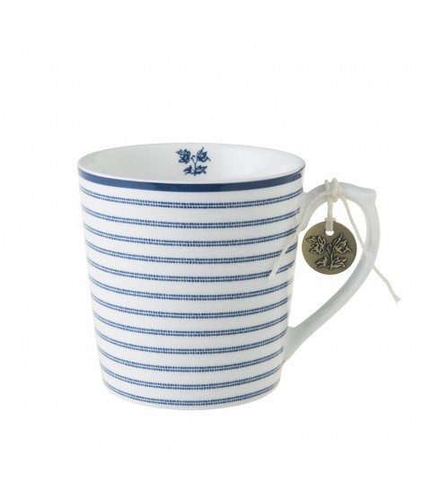 Porcelánový hrnek Candy Stripe blue 350ml