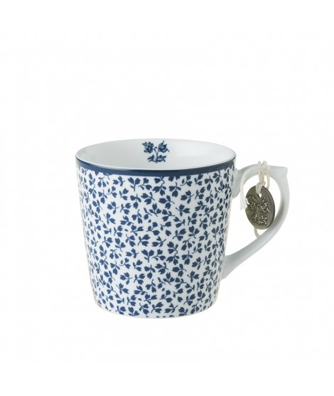 Porcelain mug Floris blue blue 240ml