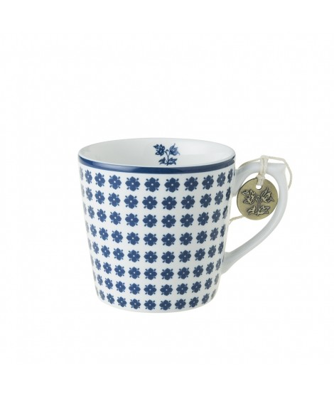 Porcelain mug Humble Daisy blue 240ml