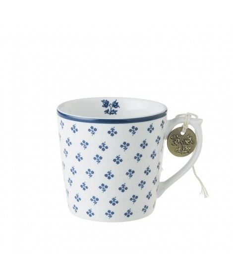 Porcelain mug Petit Fleur blue 240ml