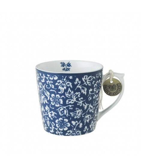 Porcelain mug Sweet Alyssum blue 240ml