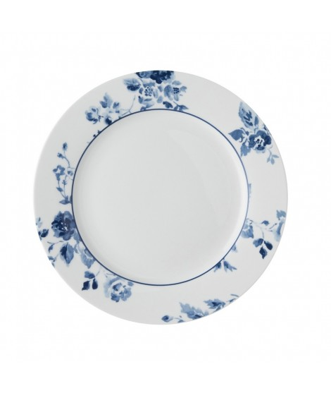 Cake plate China Rose blue 20cm