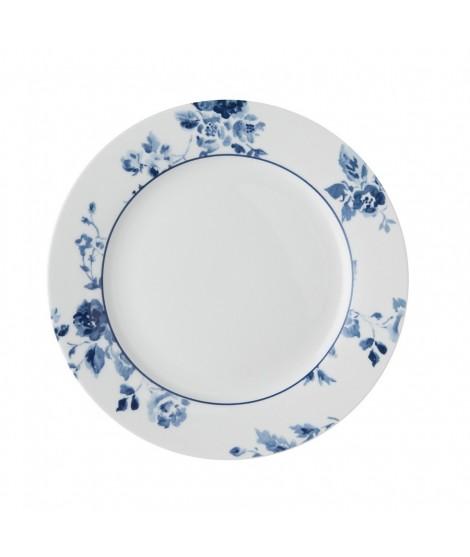 Cake plate China Rose blue 20cm