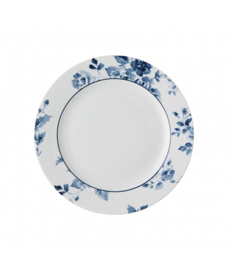 Cake plate China Rose blue 18cm