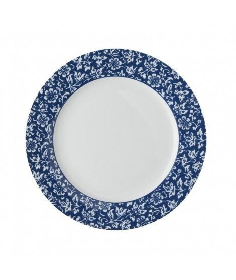 Cake plate Sweet Alyssum blue 20cm