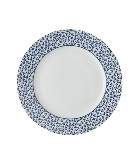 Cake plate Floris blue 20cm