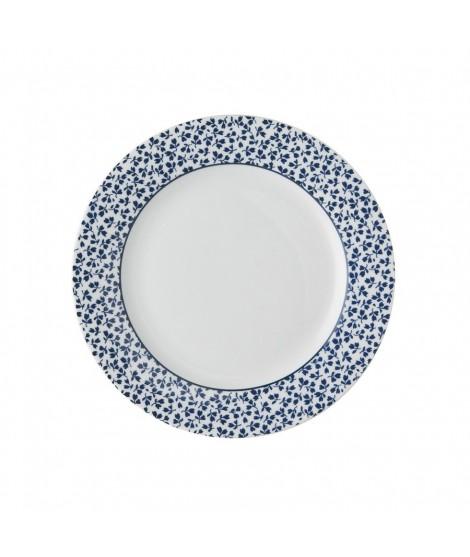 Cake plate Floris blue 18cm