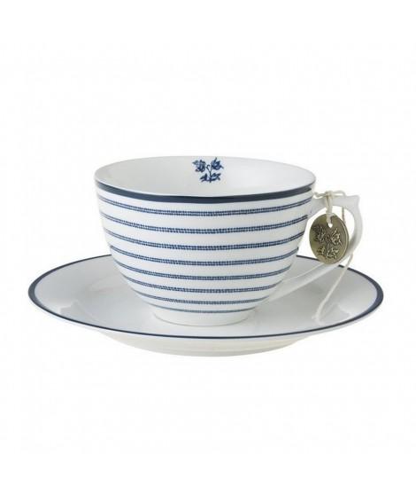 Šálek na cappuccino Candy Stripe blue 260ml