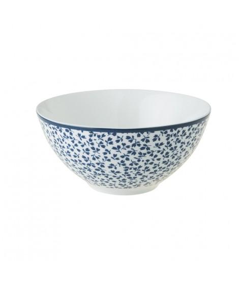 Bowl Floris blue 13cm