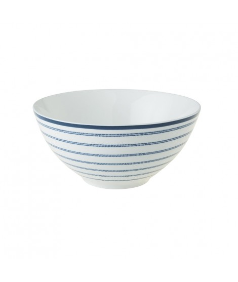 Bowl Candy Stripe blue 13cm