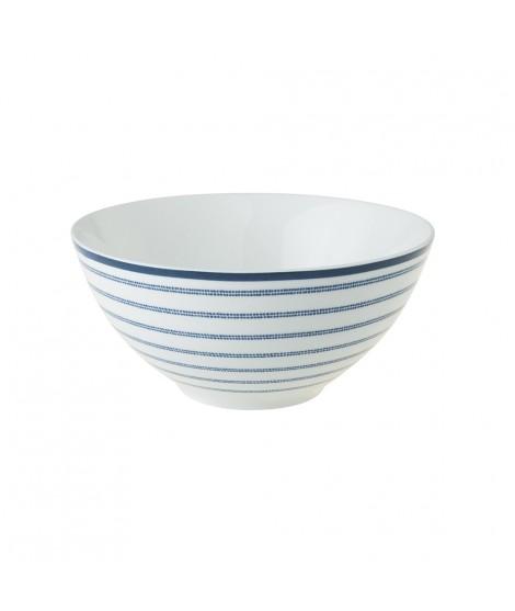 Bowl Candy Stripe blue 13cm