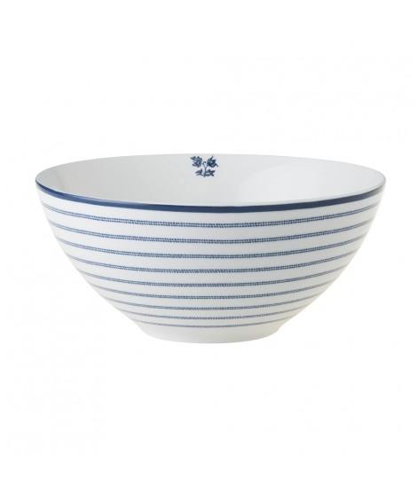 Bowl Candy Stripe blue 16cm