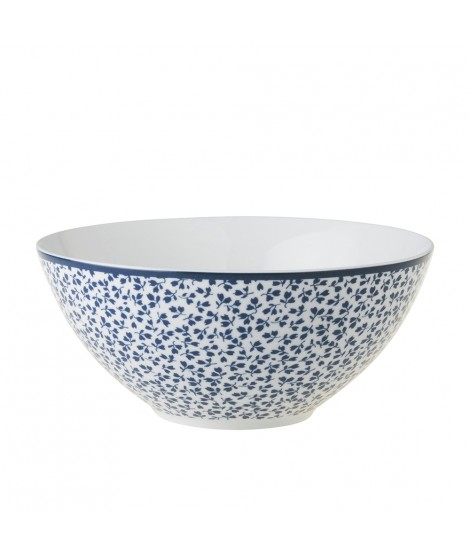 Bowl Floris blue 16cm