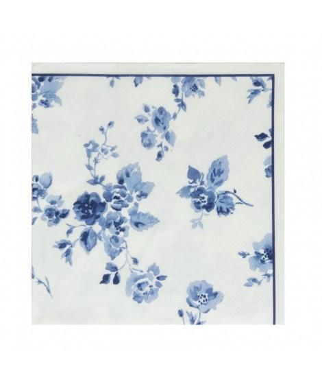 Papírové ubrousky China Rose 33x33 20ks