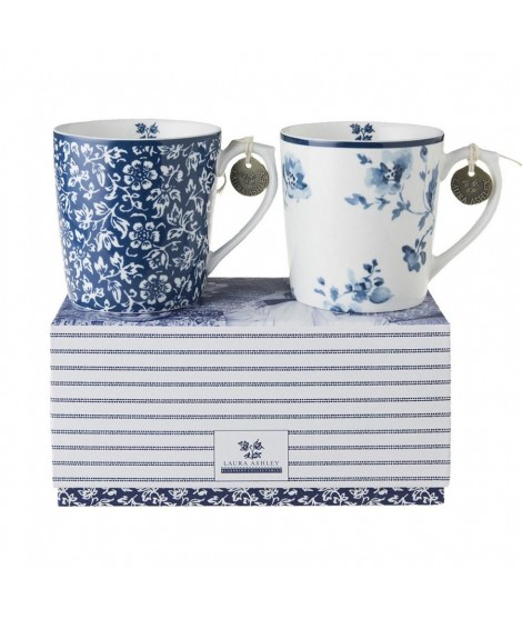 Porcelain mugs Alyssum Rose 350ml 2-set box