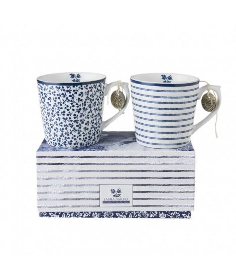 Porcelain mugs Floris Candy 240ml 2-set box