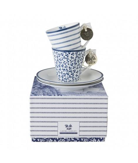Espresso mugs Floris Candy 90ml 2-set box