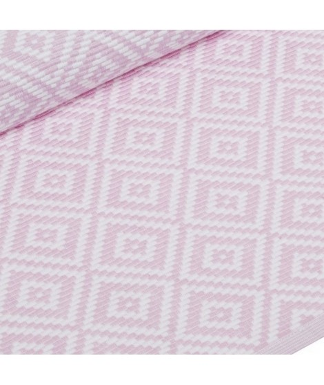 Table runner Boel pastel pink 33x120