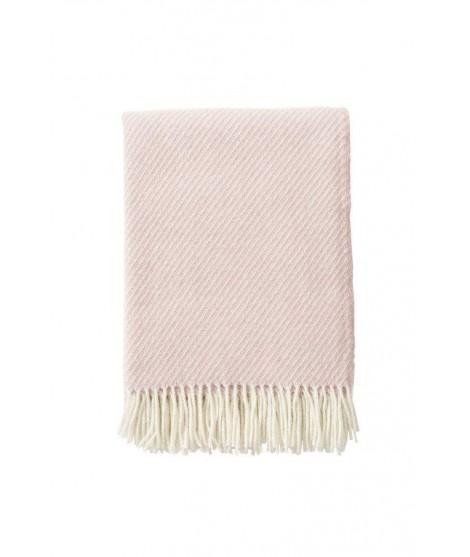 Vlněný pléd Classic Wool pink 130x200