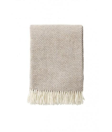 Wool throw Classic Wool brown 130x200