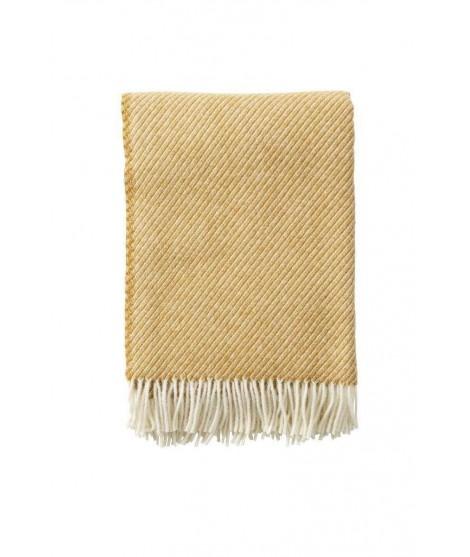Vlněný pléd Classic Wool caramel 130x200