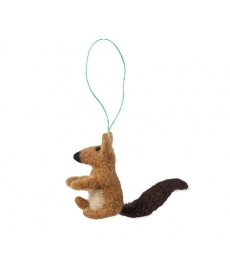 Felted decoration Squirrel 9x6