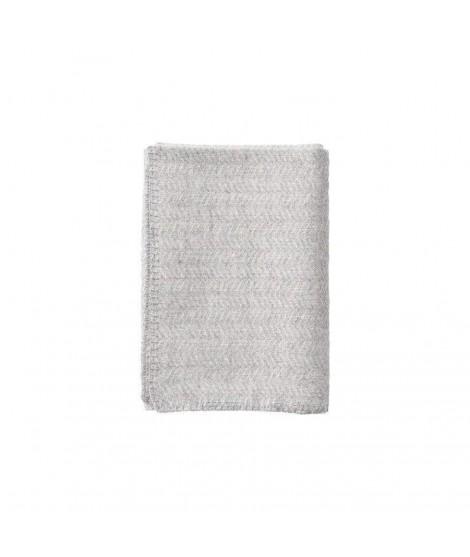 Woolen Baby blanket Tippy baby grey 65x90