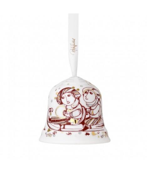 Vánoční zvonek Wiinblad Christmas Bell red H6