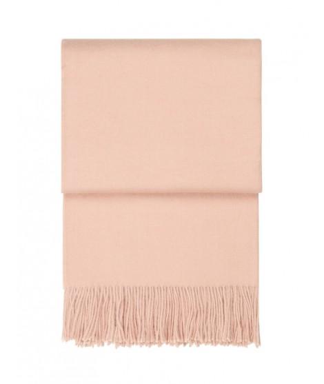 Stylový alpaka pléd Classic nude pink 130x200