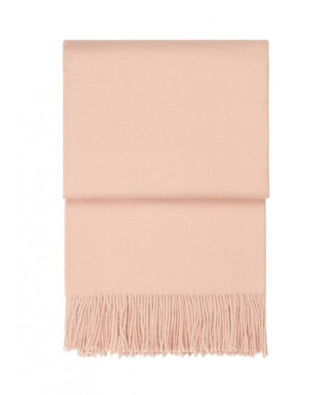 Wool throw Classic nude pink 130x200