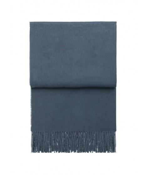 Stylový alpaka pléd Classic midnigt blue 130x200