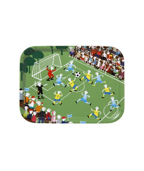 Obdélníkový tác Football green 20x27