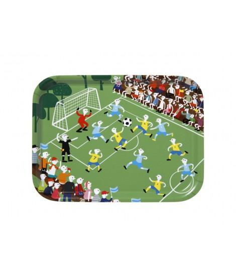 Rectangular tray Football 20x27