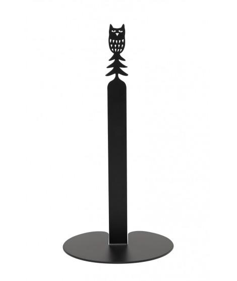 Držák papírových rolí Owl black d15x29,5