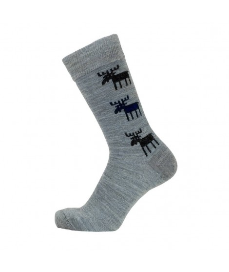 Merino socks Moose grey