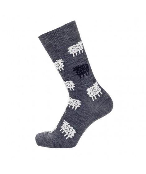 Merino ponožky Sheep antracite