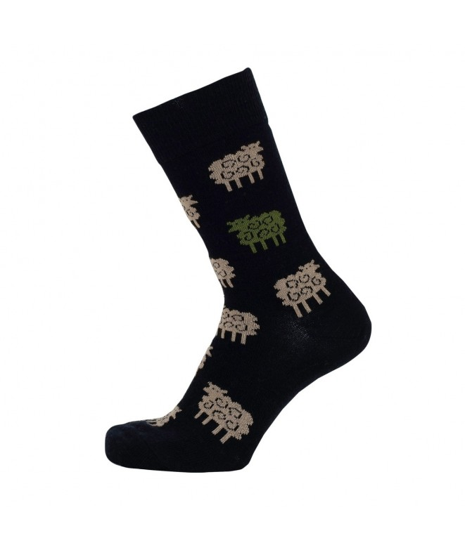 Merino socks Sheep black