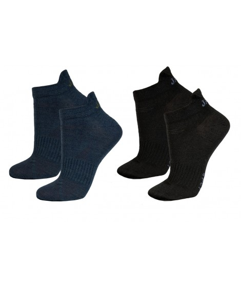 Janus man merino socks LW Blue Black 2-pack