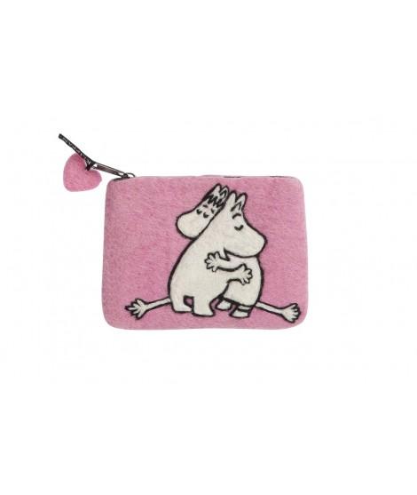 Peněženka Moomin Love pink 14x10