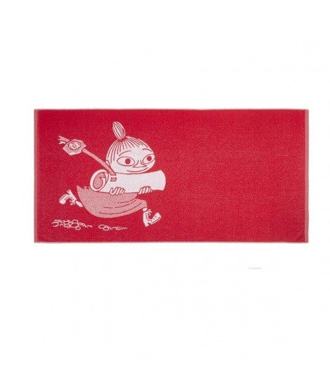 Froté osuška Moomin Little My red 70 x 140