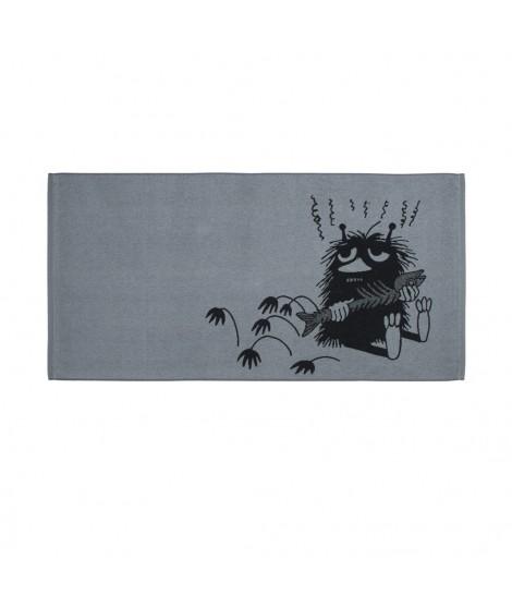 Bath towel Moomin Stinky grey 70 x 140