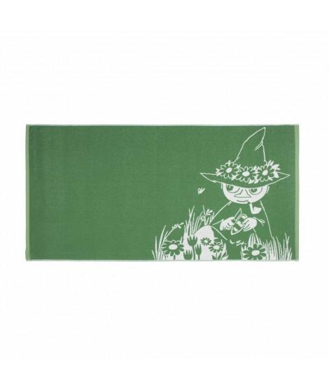 Bath towel Moomin Snufkin green 70 x 140